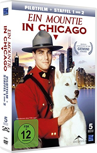 Ein Mountie in Chicago - Staffel 1&2 inkl. Pilotfilm [5 Disc-Set]