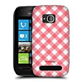 Head Case Designs Picnic French Country Patterns Back Case For Nokia Lumia 710