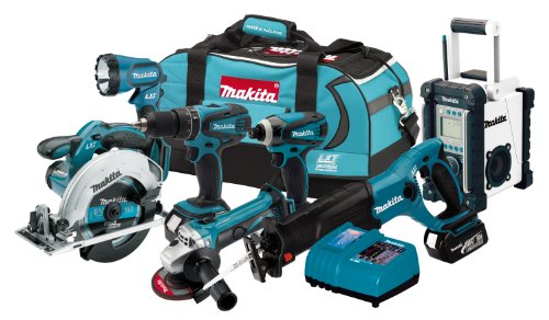 Review Makita LXT702 18-Volt LXT Lithium-Ion Cordless 7-Piece Combo Kit