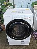 シャープ 6.0kg ドラム式洗濯乾燥機【左開き】ホワイト系SHARP プラズマクラスター洗濯乾燥機 ES-S60-WL
