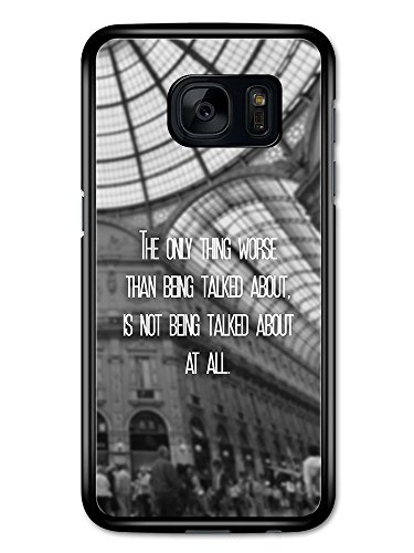 The Only Thing Worse Inspirational Quote Fashion Cool Design custodia per Samsung Galaxy S7