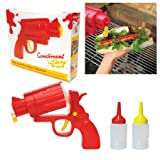 CONDIMENT GUN Picnic Party Great for BBQ sauce Ketchup or Mustard