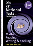 Educational experts Letts Key Stage 1 Practice Test Papers - Reading, Writing and Maths