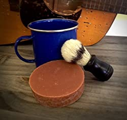 Leather & Sandalwood Shaving Kit