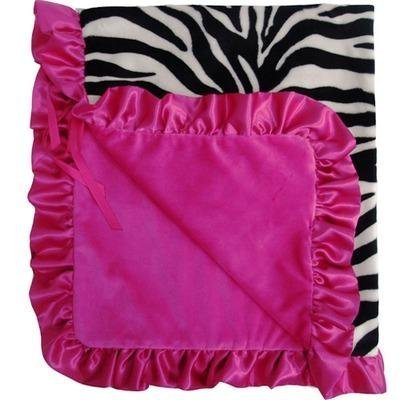 Stroller Blanket Color: Zoe Zebra