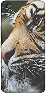 Snoogg Tiger Designer Protective Back Case Cover For One Plus X / Oneplus X