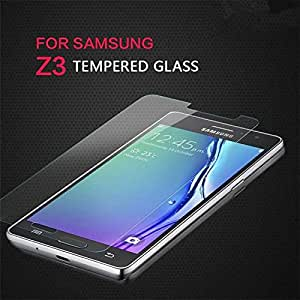 CZap Front Shatter Proof Tempered Glass Screen Protector Guard for Samsung Galaxy Z3