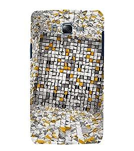 Vizagbeats Paper checks Back Case Cover for Samsung Galaxy J7 J700F