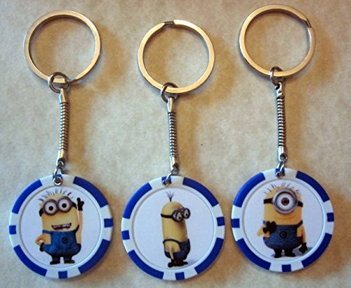 Minion-TIM-Despicable-Me-Minions-Poker-Chip-Keychain-Key-Chain
