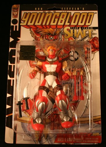 Youngblood Team Leader Shaft Action Figure NEW - 1