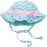 i play. Baby Girls' Reversible Ruffle Bucket Sun Protection Hat