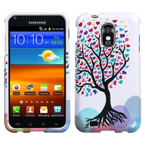 DC Design Hard Protector Skin Cover Cell Phone Case for Samsung Epic 4G Touch (Galaxy S II) D710 Sprint – Love Tree