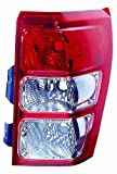 Depo 318-1907R-US Suzuki Grand Vitara Passenger Side Replacement Taillight Unit without Bulb