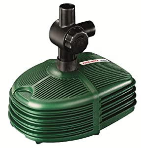 Fish mate 600 pond pump patio lawn garden for Amazon fish ponds