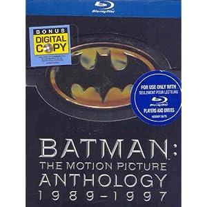 Amazon Prime Free Trial                                                                                                                                                                              Batman: The Motion Picture Anthology 1989-1997 (Batman / Batman Returns / Batman Forever / Batman & Robin) [Blu-ray] (Bilingual)