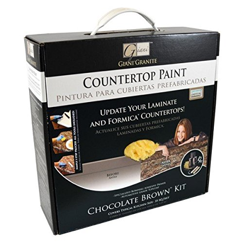 Giani Countertop Paint Kit, Chocolate Brown (The Countertop compare prices)