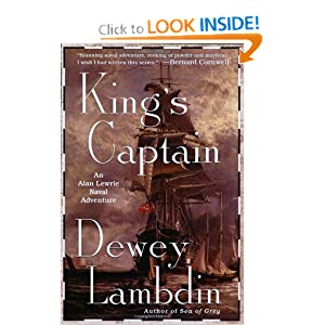 King's Captain: An Alan Lewrie Naval Adventure