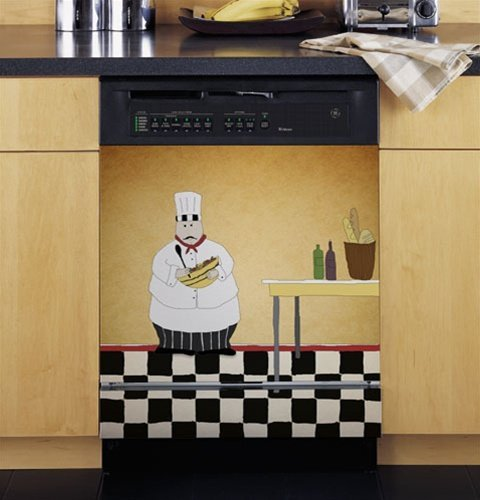 Grip Promotions 11050 Chef Appliance Art- small