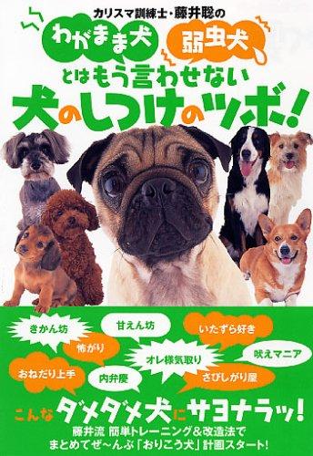 やんちゃ犬、わがまま犬、弱虫犬を徹底改造!