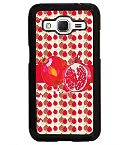 PrintDhaba Pomegranate D-2798 Back Case Cover for SAMSUNG GALAXY CORE PRIME (Multi-Coloured)