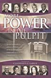 img - for More Power in the Pulpit: How America's Most Effective Black Preachers Prepare Their Sermons book / textbook / text book
