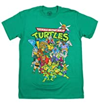 Teenage Mutant Ninja Turtles Epic Group T-Shirt Size : Large