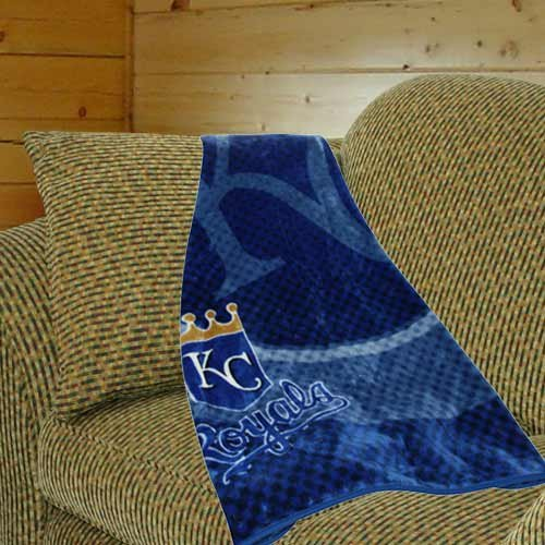 Kansas City Royals Plush Blanket at Amazon.com