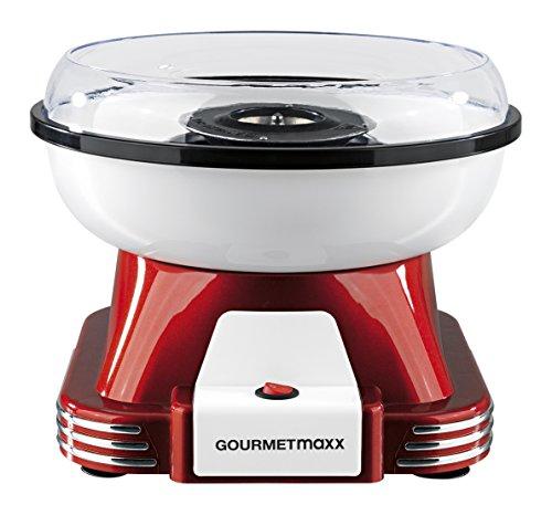 GOURMETmaxx Zuckerwatte-Maschine 500W ( Auch für bunte Zuckerwatte wie auf dem Jahrmarkt )