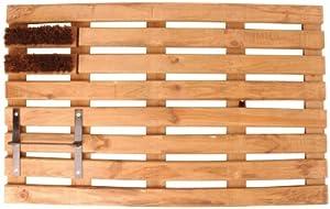 Amazon.com : Esschert Design USA NVV8 Wooden Doormat and