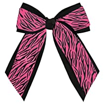 Animal Print Hair Bow