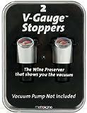 Rabbit V-Gauge Stoppers, Set of 2