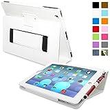 Snugg ™ - Étui Pour iPad 3 & 4 - Smart Case Avec Support Pied Et Une Garantie à Vie (En Cuir Blanc) Pour Apple iPad 3 et 4