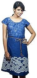 Baja Women's Dress (DS_HS_UN_BE, Blue, S)