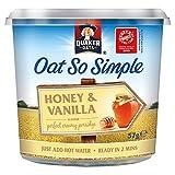 Quaker Express Pot Honey Vanilla 57g