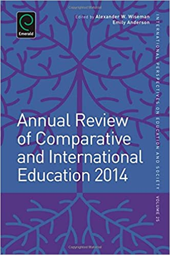 Book cover: annual review of comparative and international education 2014