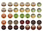 Crazy Cups Chocolate Sampler, Single-cup coffee for Keurig K-Cup Brewers (Pack of 35)