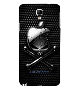 ColourCraft Funny Skull and Bone Design Back Case Cover for SAMSUNG GALAXY NOTE 3 NEO DUOS N7502