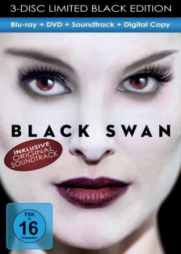 Black Swan - Black Edition (+ DVD) (inkl. Soundtrack & Digital Copy) [Blu-ray] [Limited Edition]