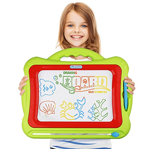 magnetic-drawing-boardkids-magna-doodle-erasable-writing-sketch-board-pad-upgrade-version-green