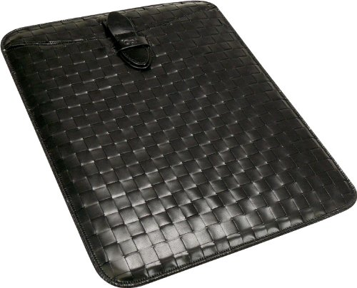 Handmade Leather Woven Sleeve for iPad