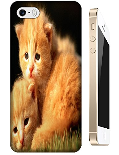 Cat Cute Mother And Baby Lovely Animal Design Cell Phone Cases Hard Back Case Cover For Iphone 5/5S No.1