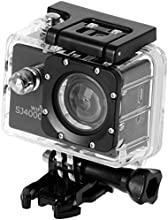 QUMOX SJ4000, WiFi Action Sport caméra, noir, - Camera imperméable, Full HD, 1080p Video, Helmcaméra
