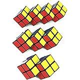 3 pièces de Cubes Magiques 2X2 jumelles + triplés + quadruplés- édition Cubikon