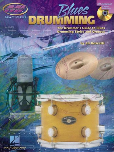 Blues Drumming Bk/Cd (Private Lessons)