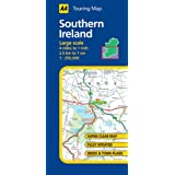 Touring Map Southern Ireland (AA Atlases and Maps)by AA Publishing