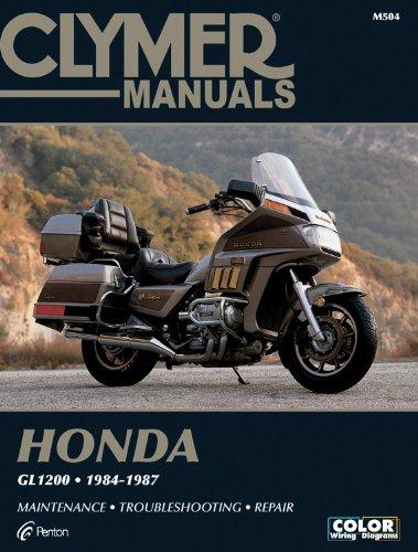 Clymer Honda Gl1200 84