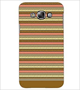 PrintDhaba Tribal pattern D-1805 Back Case Cover for SAMSUNG GALAXY GRAND 3 (Multi-Coloured)