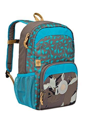 Lssig-Mini-Backpack-Big-Kinderrucksack-Kindergartentasche-Kindergarten-Kleinkind-Kind-Vorschule-mit-verstellbarem-Brustgurt-Namensschild-Utensilientasche-isolierte-Tasche-vorn-Dino-slate