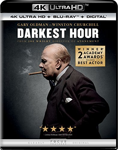 4K Blu-ray : Darkest Hour (With Blu-Ray, 4K Mastering, Digital Copy, 2 Pack, 2PC)