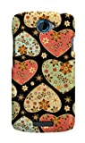Case-Mate Barely There Gold Heart Cases for HTC One S - Black